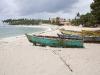 Boote am Strand von Juan Dolio
