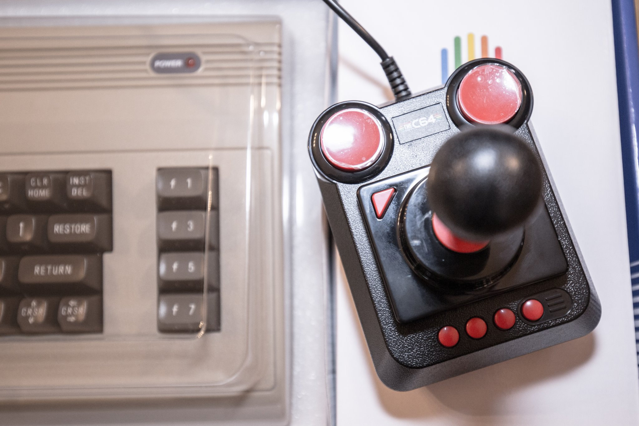 Joystick mit Mikroschalter