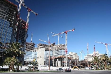 Baustelle in Las Vegas