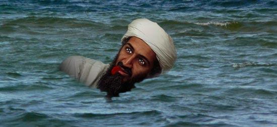 Exklusiv: Osama auf See bestattet