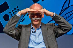 Dieter Zetsche entspannt und gut gelaunt auf der re:publica.