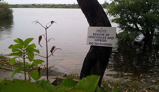 Während man Flusspferden und Krokodilen noch auf weite Sicht ausweichen kann, ist das mit Mücken nicht so einfach. Und gerade hier lauert eine tödliche Krankheit.