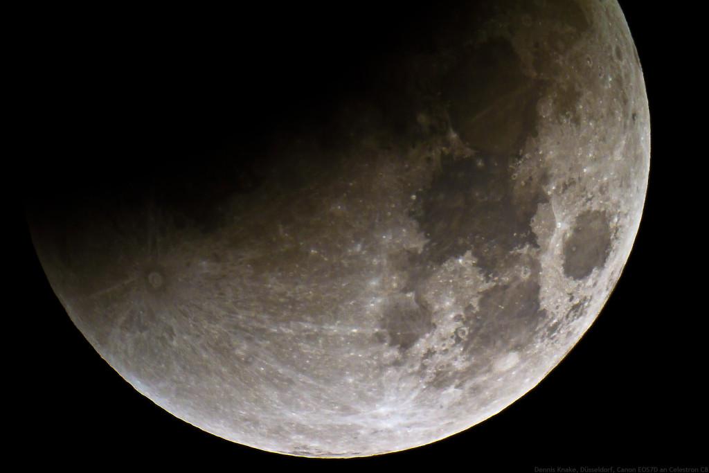 Mondfinsternis 3:37 Uhr