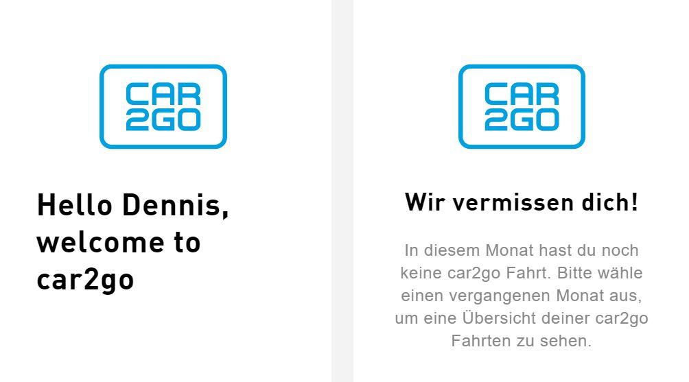 Car2Go - Wir vermissen Dich. Ja warum wohl?