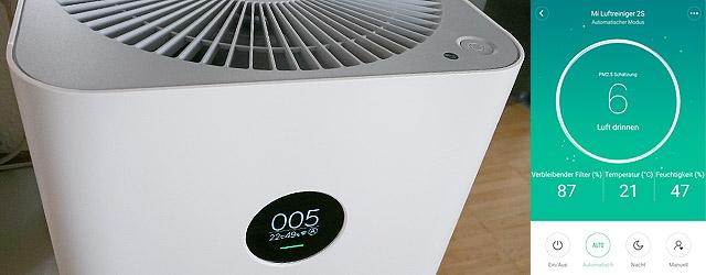 Xiaomi Air Purifier 2S Titelbild