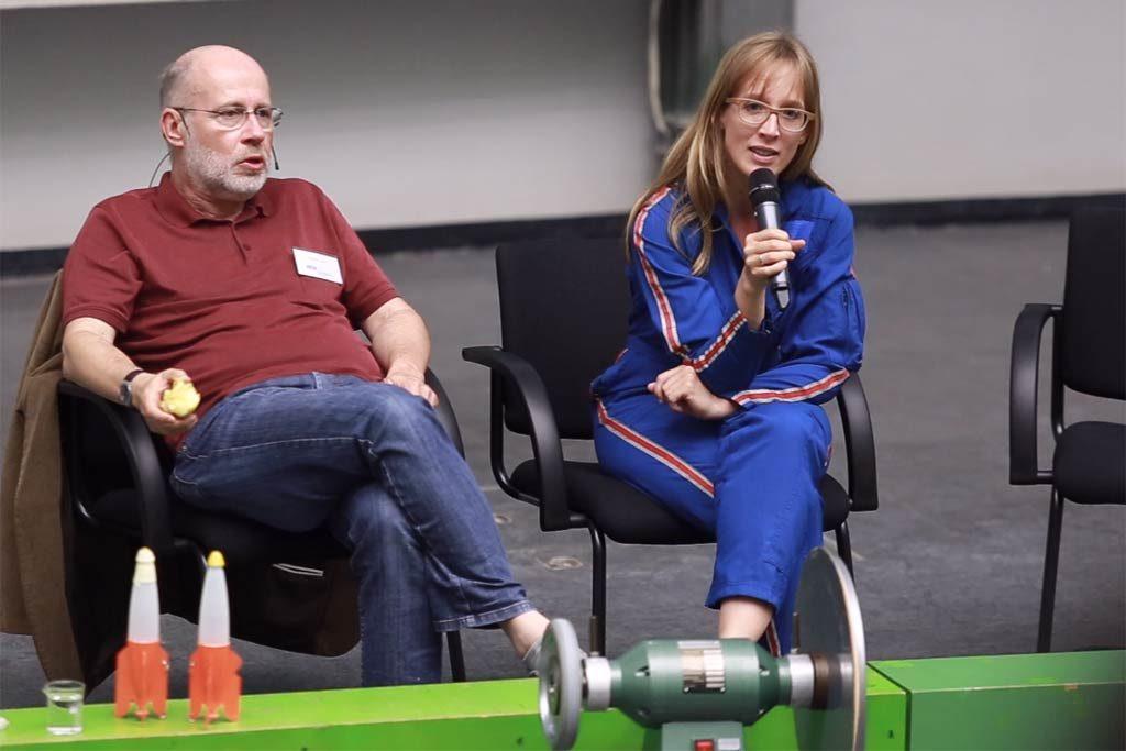 Dr. Insa Thiele-Eich stellte sich den Fragen aus dem Publikum