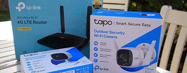 Tapo Kameras und LTE-Router im Test